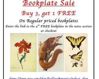 Book Plate Sale