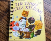 The Three Little Kittens Small Recycled Notebook