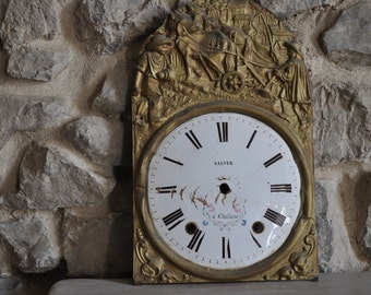 French Comtoise Clock Face