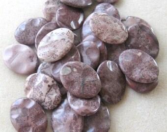 Variegated Jasper Pendant, Gemstone Pendant, Gemstone Beads, Necklace Design, Bead Supplies ,Bead Supplies, Craft Supplies