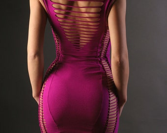 Holiday SALE - Strappy Tube mini Dress