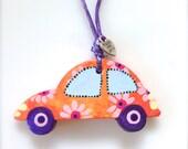 Colorful Car Ornament