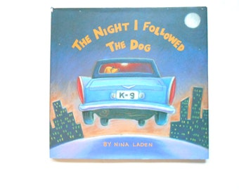 The Night I Followed the Dog, Vintage Children's Picture Book