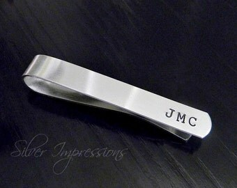 Personalized Tie Bar / Tie Clip / Gift for Him / Groom gift / Dad Gift
