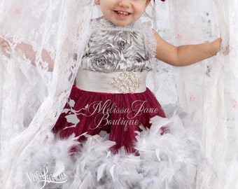 Miraculous Girls Feather Dress
