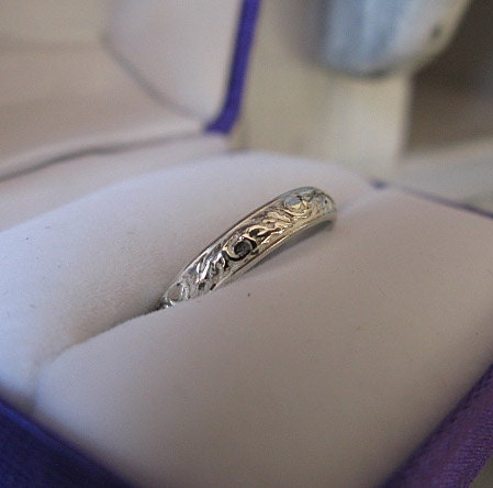 Bague argent 3 anneaux 5 mm largeur