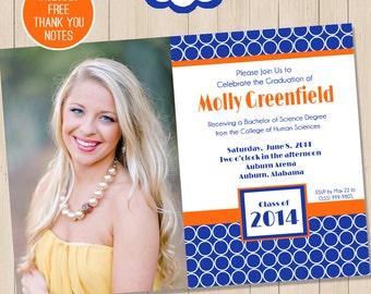 graduation invitation etsy - High School Graduation Invitation