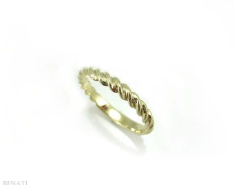 Twisted Rope Wedding Ring, Twisted Rope Gold Wedding Band, Infinity Wedding band, Rope Wedding band, Twisted Rope Wedding Ring, Modern Band