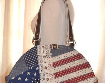 Small Dog Carrier - Americana