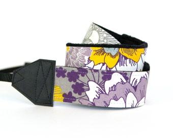 SLR Camera Strap- Brushed Lilac