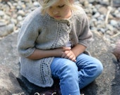 KNITTING PATTERN-The Cove Cardigan (2/3, 4/5, 6/7, 8/9, 10/11 years)