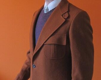 Burnt Orange Jacket sz 42