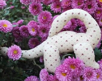 Stuffed toy dinosaur