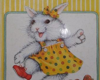 Bunnys New Shoes  -  a Little Golden Book  1987 - vintage children's book
