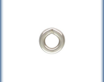 Sterling Silver 24ga 2mm Closed Jump rings - 100pcs (6380) High Quality Made in USA Jump Rings