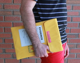 13 inch Laptop Sleeve - Crime Scene Investigation - MacBook Case