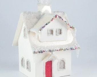 Paper House Ornament - Clintonville Bungalow