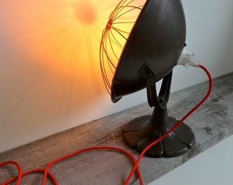 Antique Copper Heater Turned Decorative Lamp