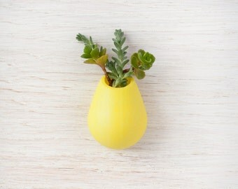 Lemon Yellow  Planter Lapel Pin