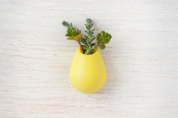 Lemon Yellow  Planter Lapel Pin