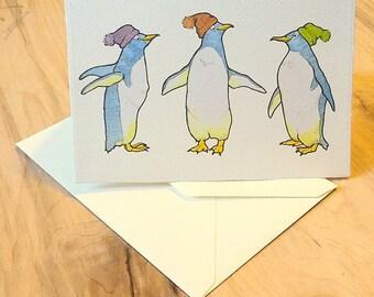 Penguin 4x6 Notecard