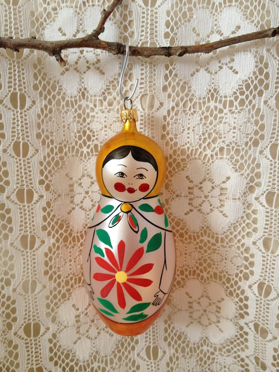 Glass Christmas Ornament Made in Italy by TheCookieClutch ...