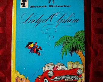 Benoit Brisefer Lady d Olphine No 6 Dupuis 1973 Peyo Smurfs Walthery Delporte French Children Teens Adventure Robot Crime Robotic
