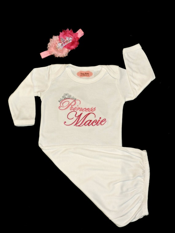 Baby Girl Clothes Personalized Newborn Girl Take by sassylocks