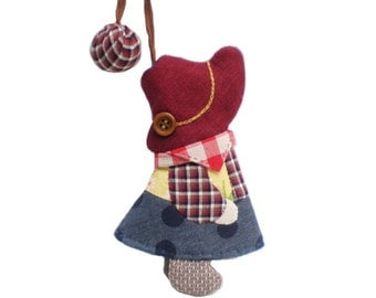 Lovely Cowgirl Keycover, Keychain, Keycover