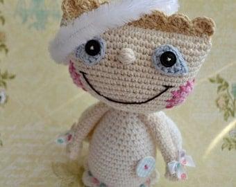 Crochet angel pattern - DIY, crochet pattern