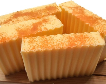 Tangerine Grapefruit Orange Soap - Shea Butter Soap - FAVORITE SOAP - Gift Wrapped too!