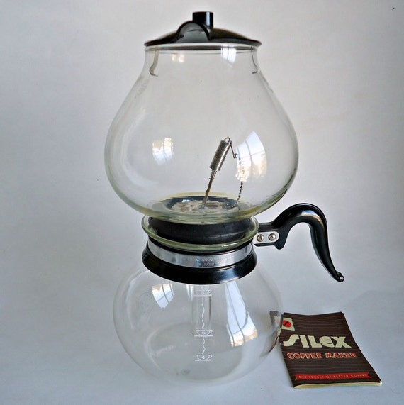 Silex Double Coffee Pot Pyrex Vintage