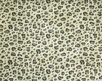 Retro Wallpaper by the Yard 80s Vintage Wallpaper - 1980s Leopard Print on Metallic Gold