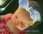 Poncho.Dean- Knotted Headband Vintage Retro Tied Knot Headband- Baby Kid Toddler Teen Adult Headband