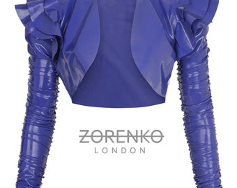 LATEX BOLERO JACKET