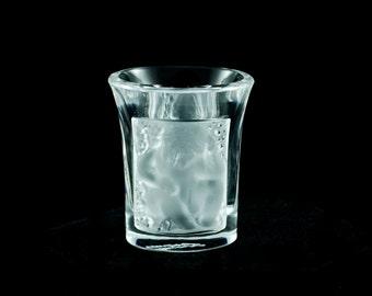 Vintage Lalique 'Les Enfants' Cherub Liqueur Shot Glass