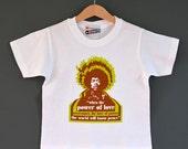 SALE* Jimi Hendrix  'When The Power of Love' Kids White T-shirt. Kids Rock t-shirts. Festival T-shirts.