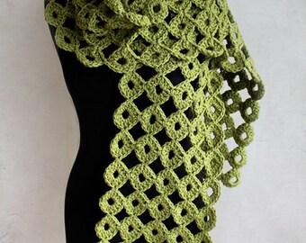 Crochet Pattern - Chunky Joy-Joy Scarf (Pattern No. 050) - INSTANT DIGITAL DOWNLOAD