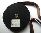 Destash Vintage Red Green Black Cotton Rayon Trim Christmas Lederhosen 2 yards