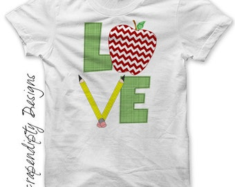 Iron on School Shirt PDF - Apple Iron on Transfer / Back to School Outfit / Kids First Grade Shirt / Boys First Day of Class Clothes IT466