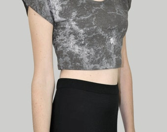 SALE - Salted Stars Crop Top