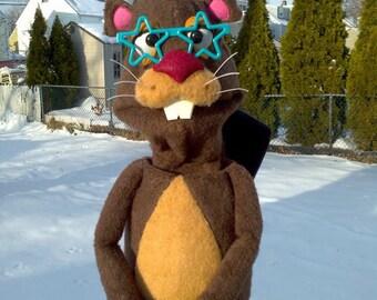 Super Star Beaver Puppet
