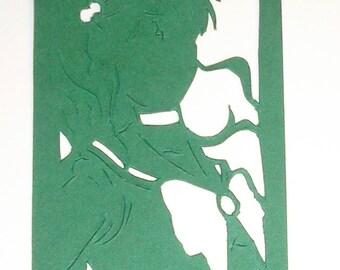 Papercut Bookmark Sailor Jupiter