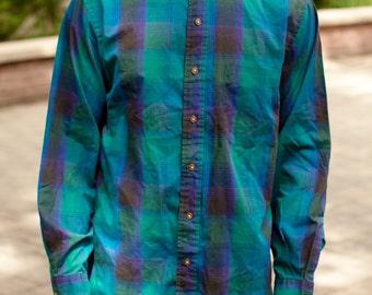 Men's Long Sleeve Button Up - ARROW SPORT - M