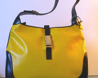 Boots 'N Bags Bumble Bee  Yellow & Black Shoulder Bag