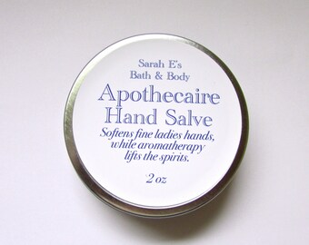 Apothecaire Hand Salve for Fine Ladies Hands