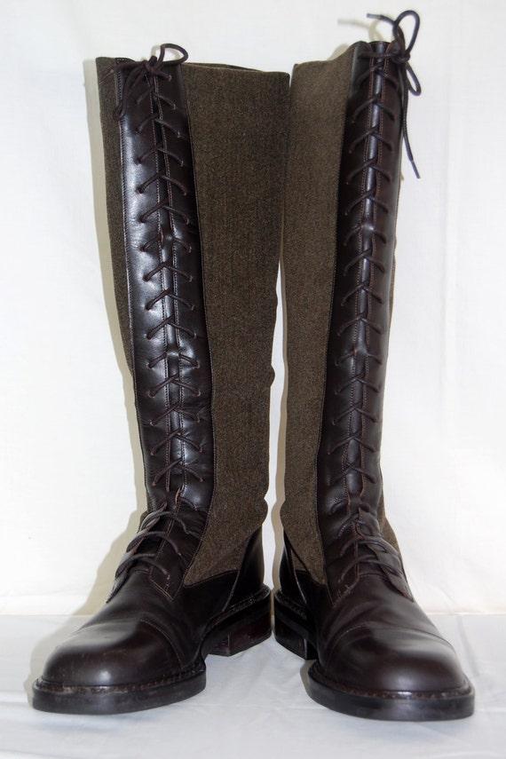 SALE Vintage Ralph Lauren Riding Boots Ralph Lauren Regina