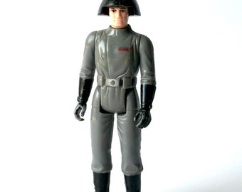 Star Wars Action Figure 1977, Death Squad Commander, Empire Strikes Back, Luke Skywalker, Darth Vader