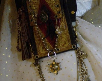 HOLSTER BELT POUCH, Renaissance Faire Belts/Pouches, Sample in photos is Sold, 1 of kinds, Free shipping domestic 48 usa states