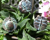 Turtle, Dragonfly, Moon, Garden Markers